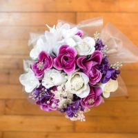 Mon bouquet de mariée élégant pour moins de 40 euros !