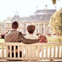 Discours des mariés : sur le banc d'une rencontre