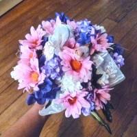 Le petit bouquet de mariée champêtre