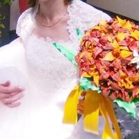[Témoignage] Bouquet de mariée en origami, je dis oui !