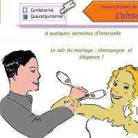 La mariée et son histoire avec... l'alcool !