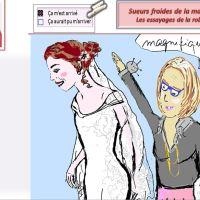 Les essayages de la robe de mariée...et les complexes !